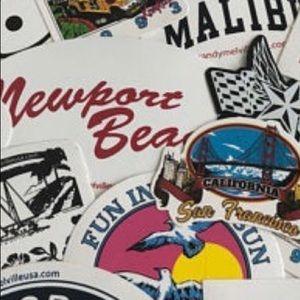 •Brandy Melville Stickers Trade•